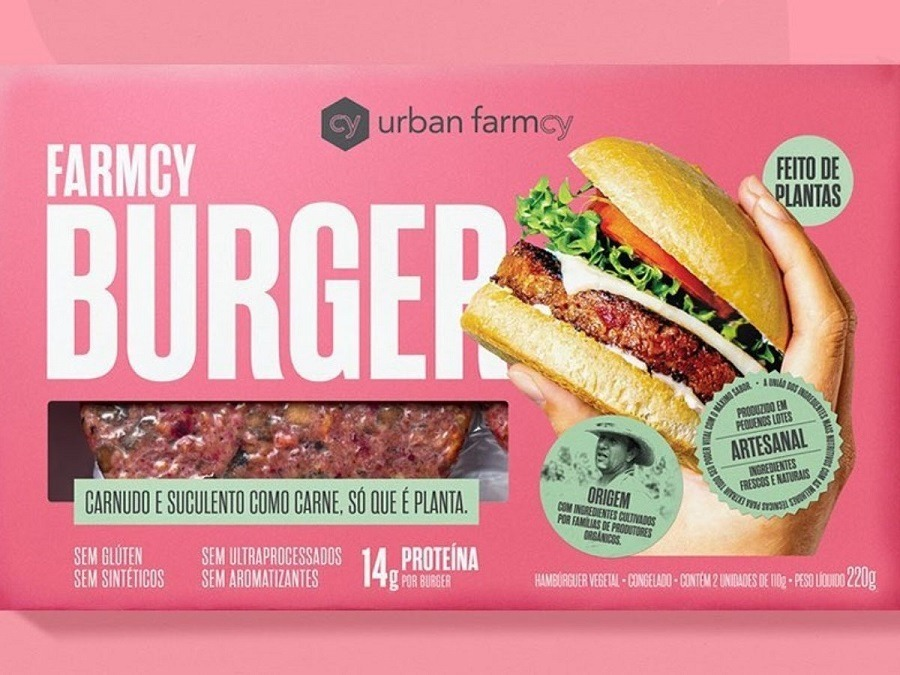 Conheça o primeiro hambúrguer vegano sem ultraprocessados do Brasil