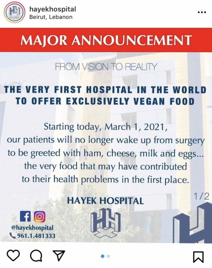Hospital-vegano