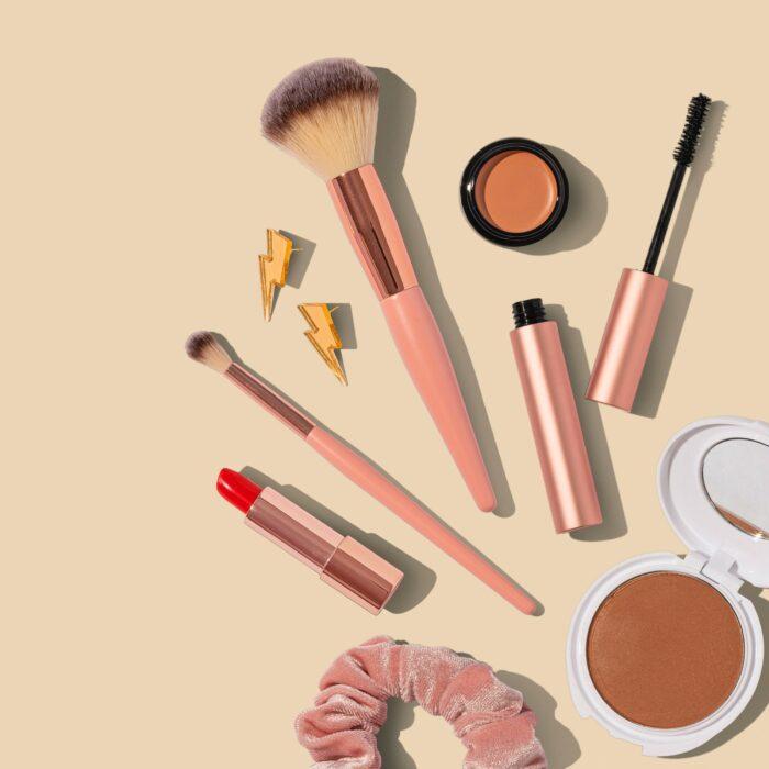 Beleza limpa - produtos cosméticos