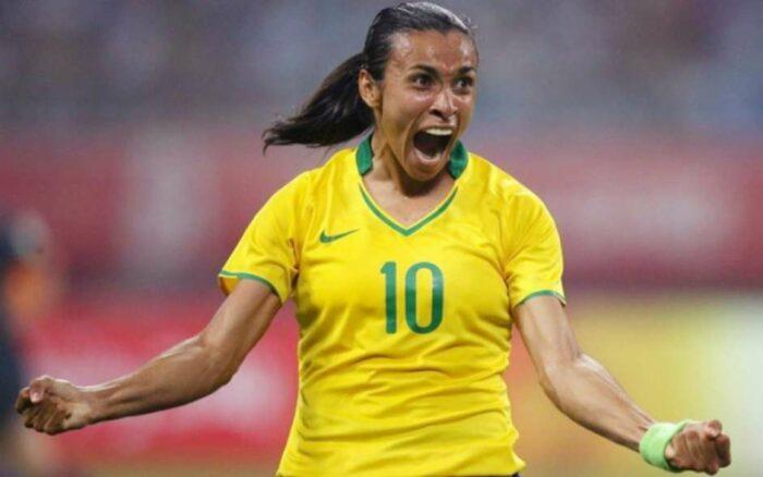 Jogadora de futebol - Marta