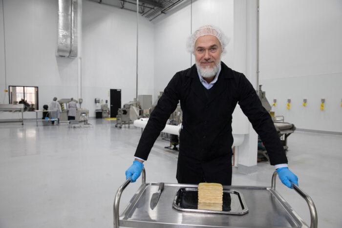 CEO da empresa de proteína de fungos