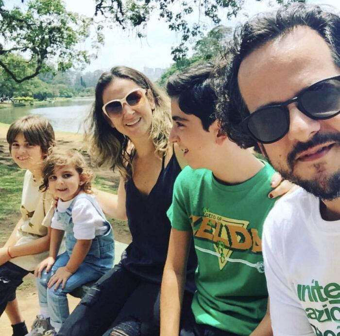 Dia dos Pais: família de Fabio Zukerman