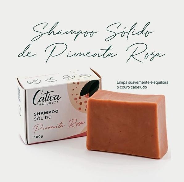 Shampoo sólido Cativa Natureza