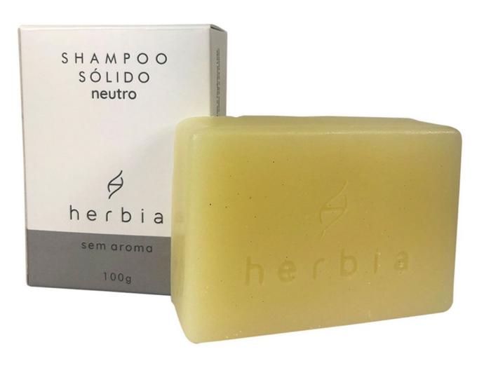 Shampoo sólido Herbia