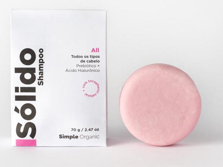 Shampoo sólido Simples Organic